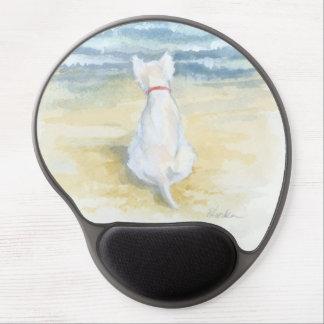 Wistful Westie mouse pad