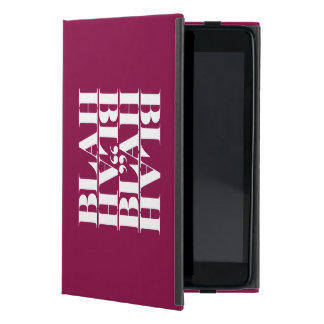 Wit, wisdom and sarcasm cover for iPad mini