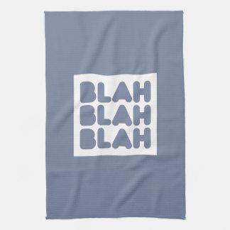 Wit, wisdom and sarcasm tea towel