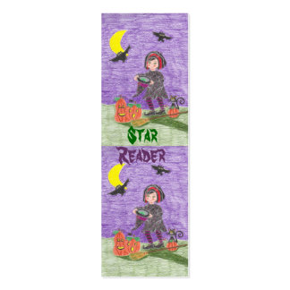 Witch 3,  Star Reader mini bookmarks Pack Of Skinny Business Cards