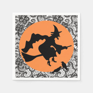 WITCH AND OLD LACE PAPER SERVIETTES