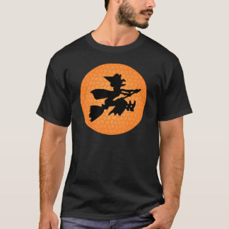Witch and Orange moon T-Shirt