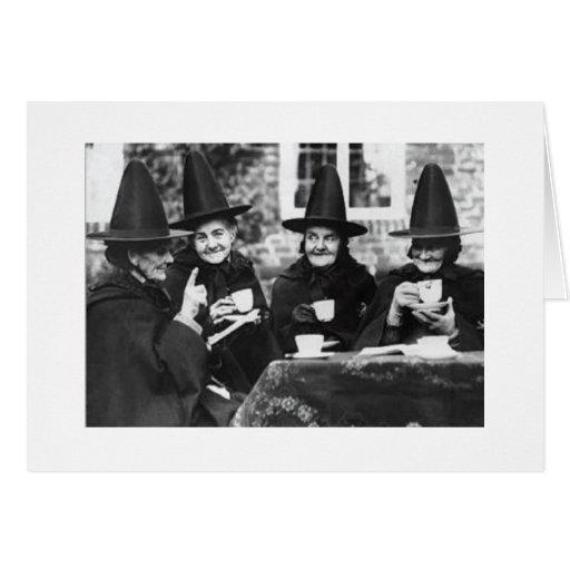 Witch Birthday Card