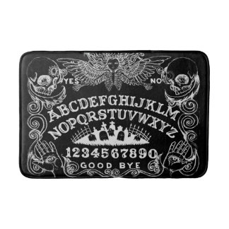 Witch Board Black Bath Mat