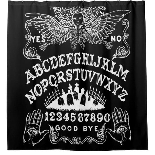 Witch Board Shower Curtain