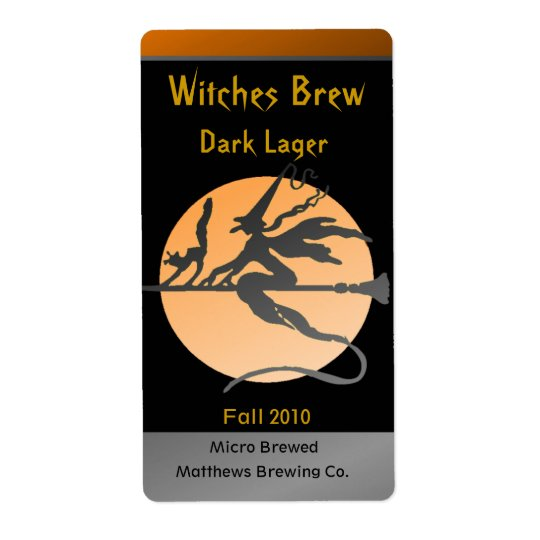 Witch Bottle Labels