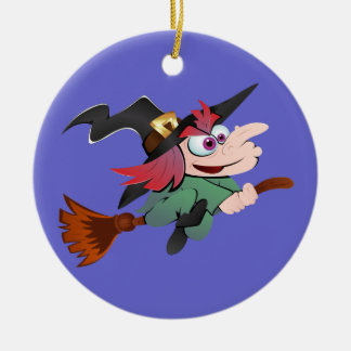 Witch broom witch broom christmas ornament