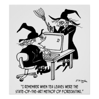 Witch Cartoon 4864 Poster