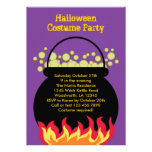 Witch Cauldron Halloween Party Invitation