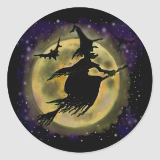 Witch Classic Round Sticker