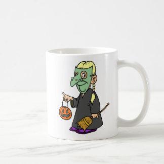 Witch Costume Basic White Mug