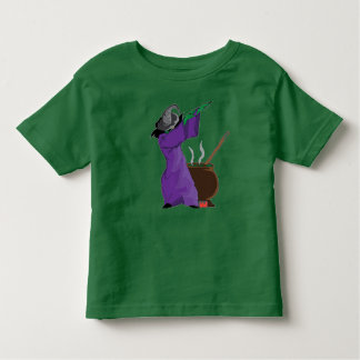 witch Dabbing Funny Halloween Dab Dance Toddler T-Shirt