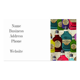 Witch Doctors Magic Potion Apothecary Tonic Bottle Business Card Template