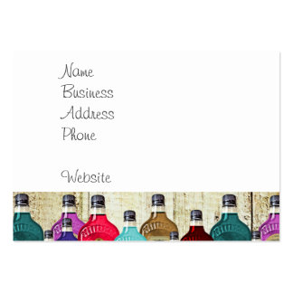 Witch Doctors Magic Potion Apothecary Tonic Bottle Business Card