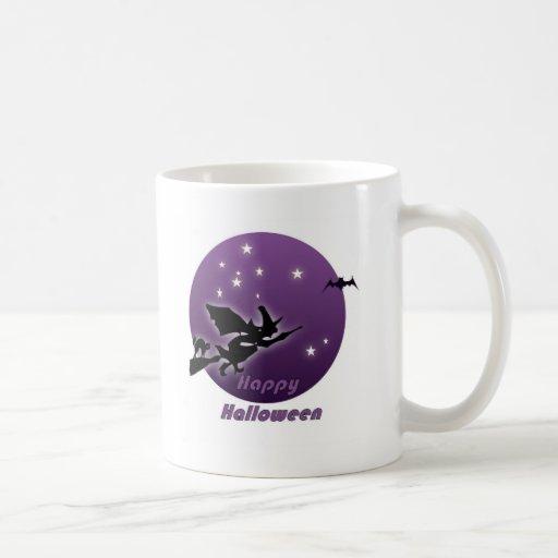 Witch Flight Halloween mug