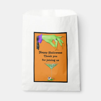 Witch Hand Bile and Eyeball Cocktail Halloween Favour Bags