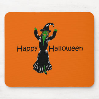 Witch-Happy-Halloween Mouse Pad