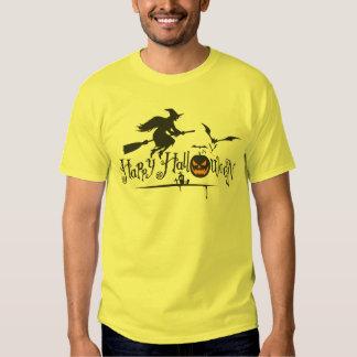 Witch Happy Halloween Shirt
