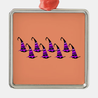 Witch hat christmas ornament