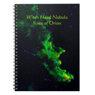 Witch Head Nebula deep space astronomy image Notebooks