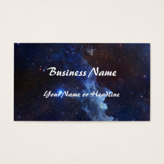 Witch Head Nebula NASA Space Business Card