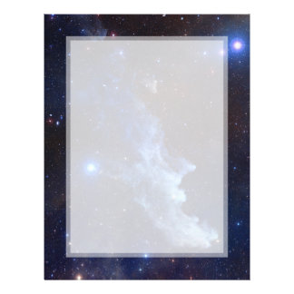 Witch Head Nebula NASA Space 21.5 Cm X 28 Cm Flyer