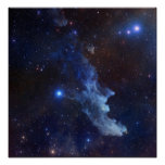 Witch Head Nebula NASA Space Poster