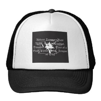 Witch Herbs Mesh Hats