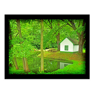Witch house postcard