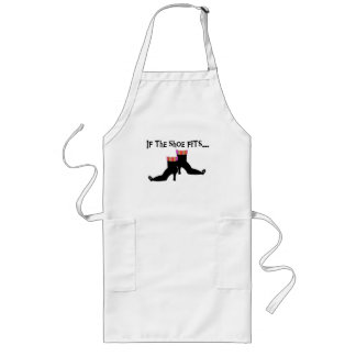 Witch If the Shoe Fits Long Apron