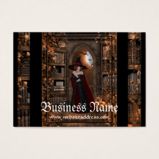 Witch in the Night Fantasy Business Cards