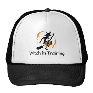Witch In Training 2 Trucker Hats