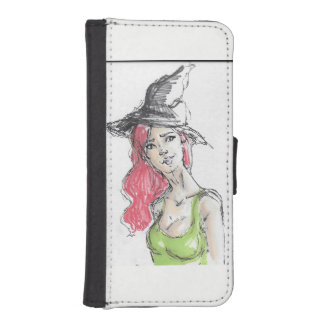 Witch iPhone SE/5/5s Wallet Case