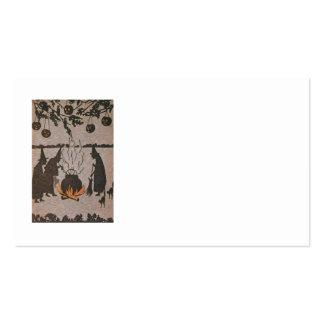 Witch Jack O' Lantern Cauldron Owl Pack Of Standard Business Cards