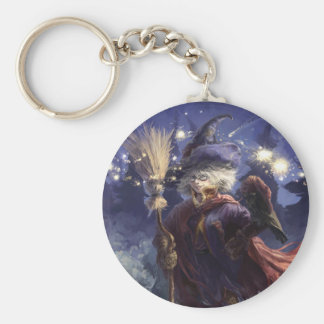 Witch Key Ring