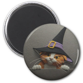Witch Kitten Magnet