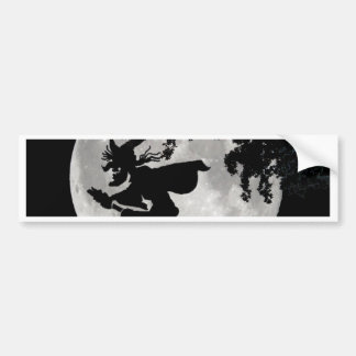 Witch Moon Bumper Sticker