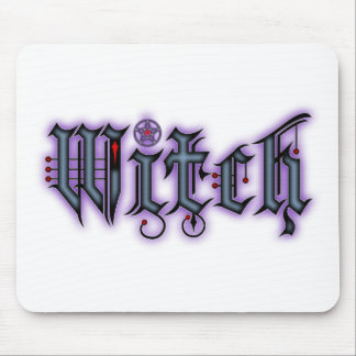 Witch Mouse Mat