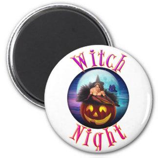 Witch Night Fridge Magnet