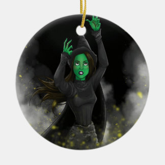 Witch - No Good Deed Christmas Ornament
