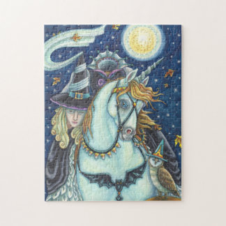 WITCH OF SLEEPY HOLLOW Headless Horsewoman PUZZLE