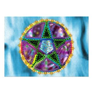 Witch Pentagram Invitations
