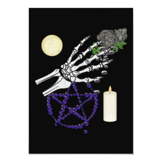 Witch Playthings 13 Cm X 18 Cm Invitation Card