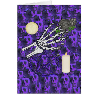 Witch Playthings Greeting Card