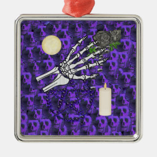 Witch Playthings Silver-Colored Square Decoration