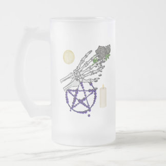Witch Playthings Frosted Glass Mug