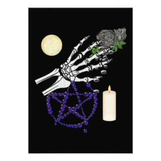 Witch Playthings Invitations