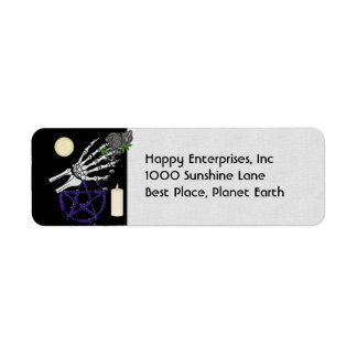 Witch Playthings Return Address Label