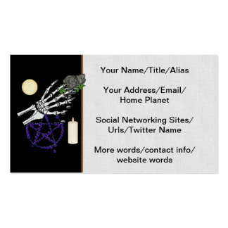 Witch Playthings Pack Of Standard Business Cards
