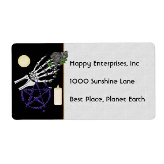 Witch Playthings Shipping Label